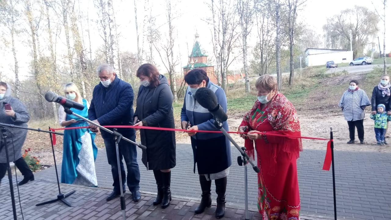 В Клетне открылся Акуличский сельский дом культуры после ремонта