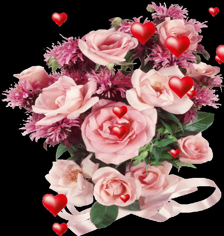 отличий картинки цветы анимация букеты цветов для тебя база
