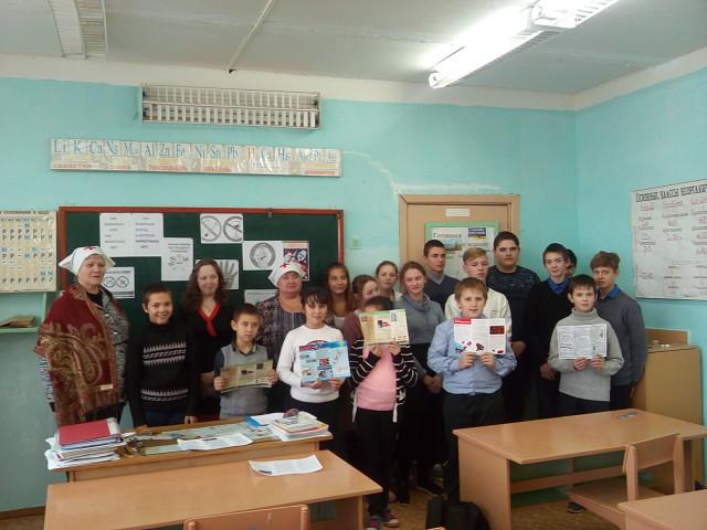 Школьникам села Берёзовка напомнили об опасности алкогольной и наркотической зависимостей