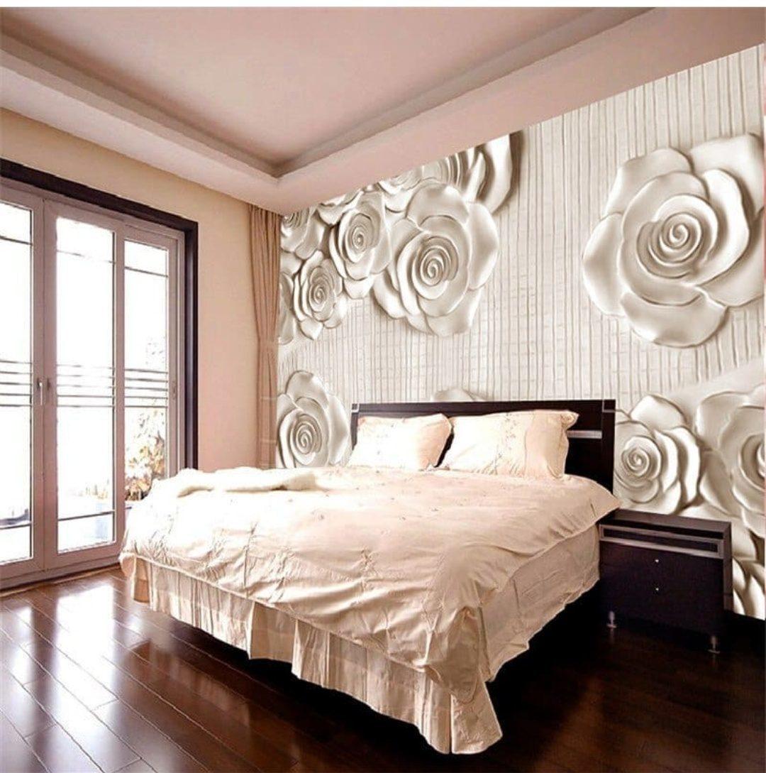 закрытой фотообои розы для спальни над кроватью продукта