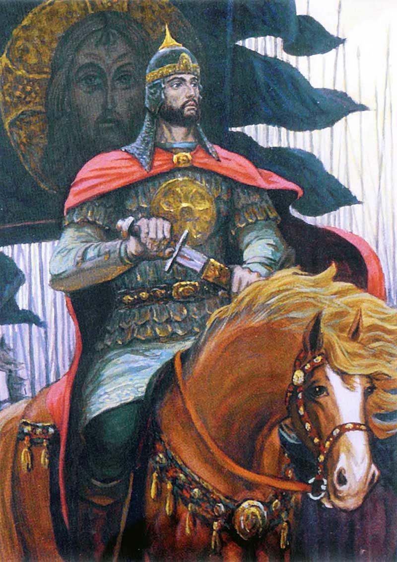 князь александр невский фото изображение картина