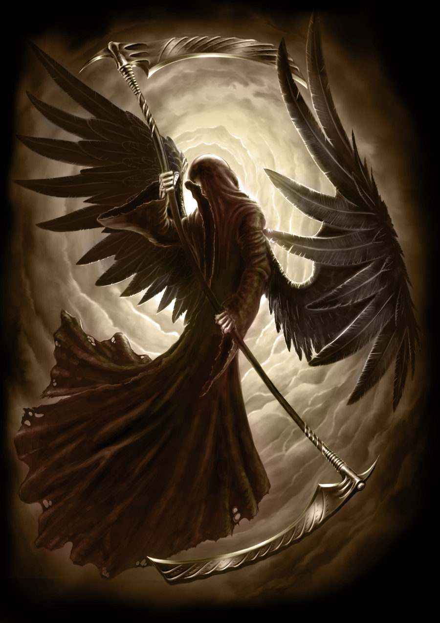 Картинки ангел смерти азраил