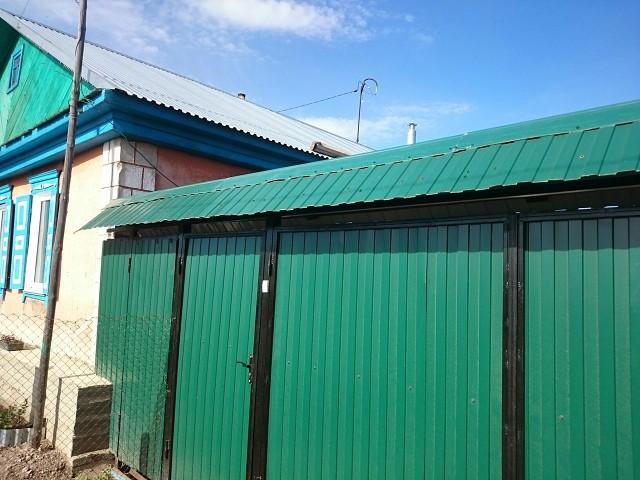 ворота с крышей из профнастила фото обычный электрический