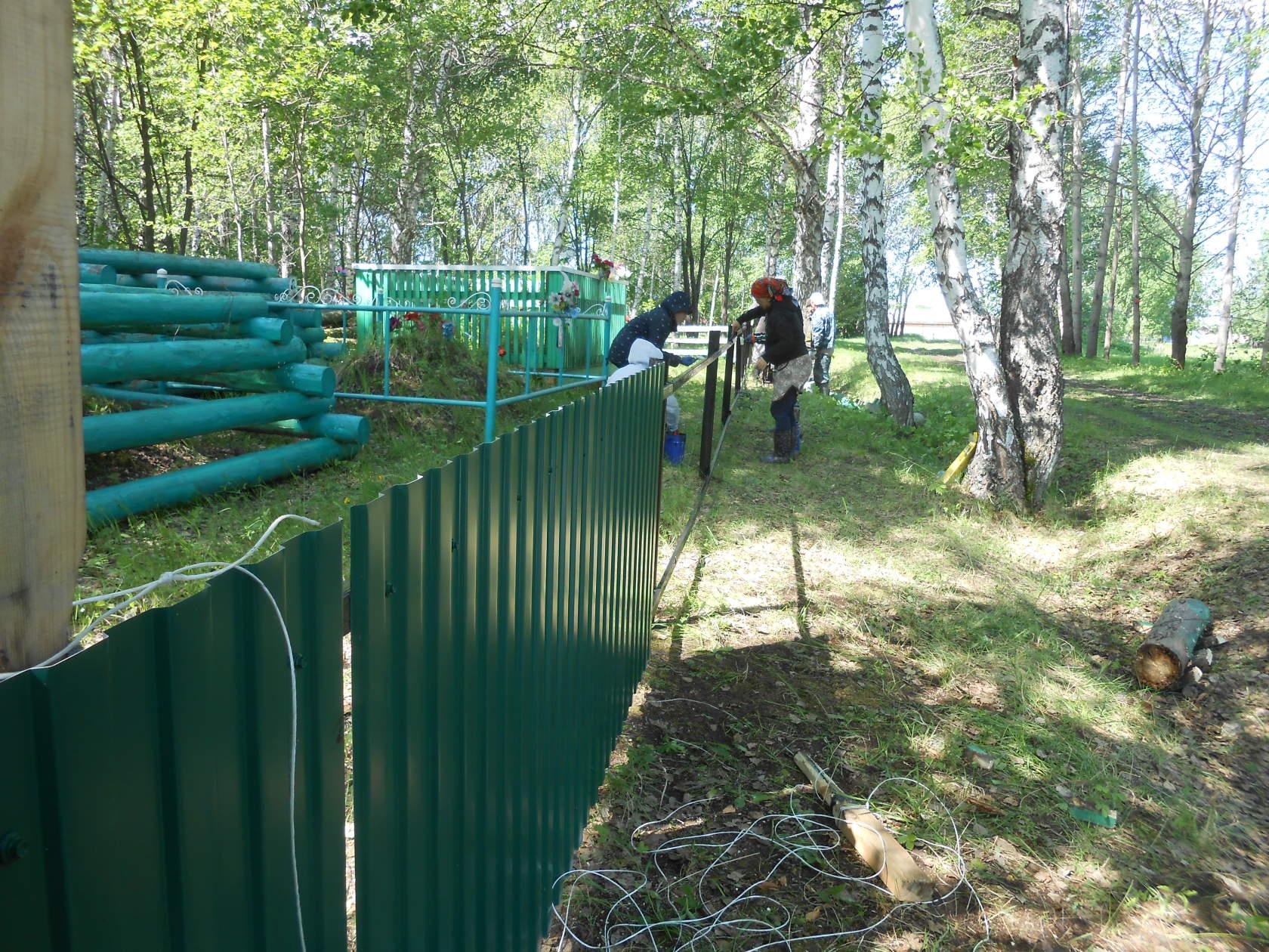 Кладбище Тавинск, Сибирские татары