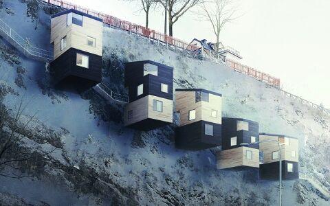 Необыкновенное шведское жилье