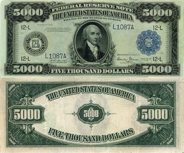 номинал долларовых банкнот картинки сама себе это