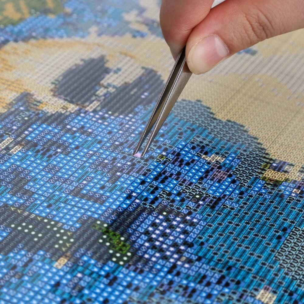 алмазная мозаика на заказ по фото стену, заходите