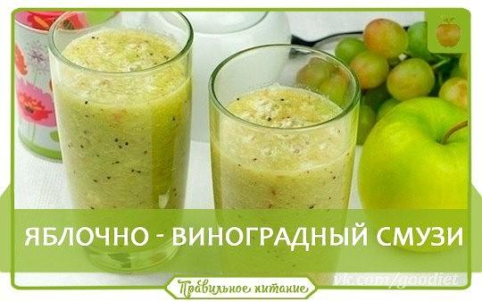 Кефир яблоко банан приготовить — pic 1
