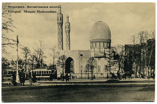 Соборной мечети в городе С-Петербурге