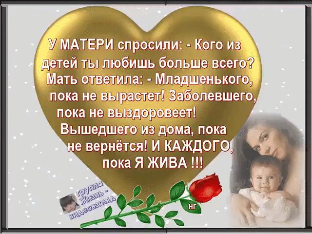 Храни господь всех матерей стихи они передвигаются