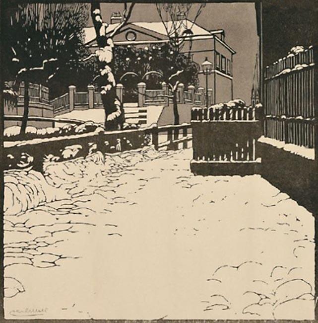 23 апреля 1861 года родился Карл МОЛЛЬ, австрийский художник-импрессионист  эпохи «югендстиля».