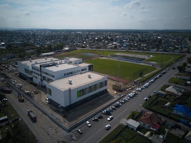 """Новая версия стадиона """"Металлург"""""""