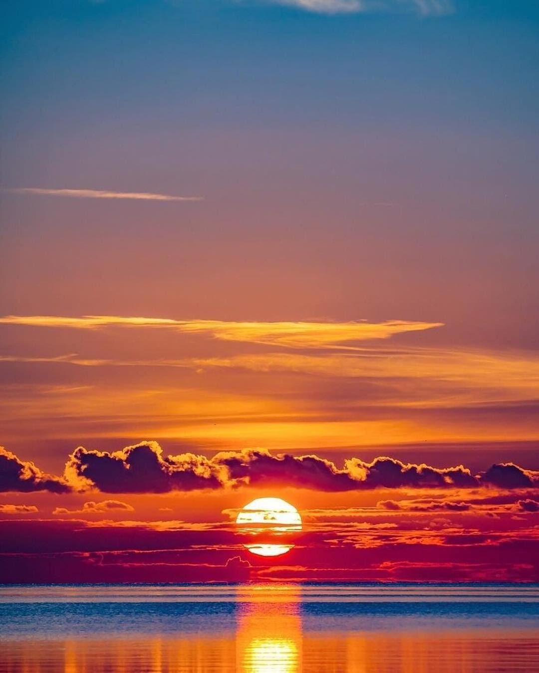Картинки красивого заката солнца