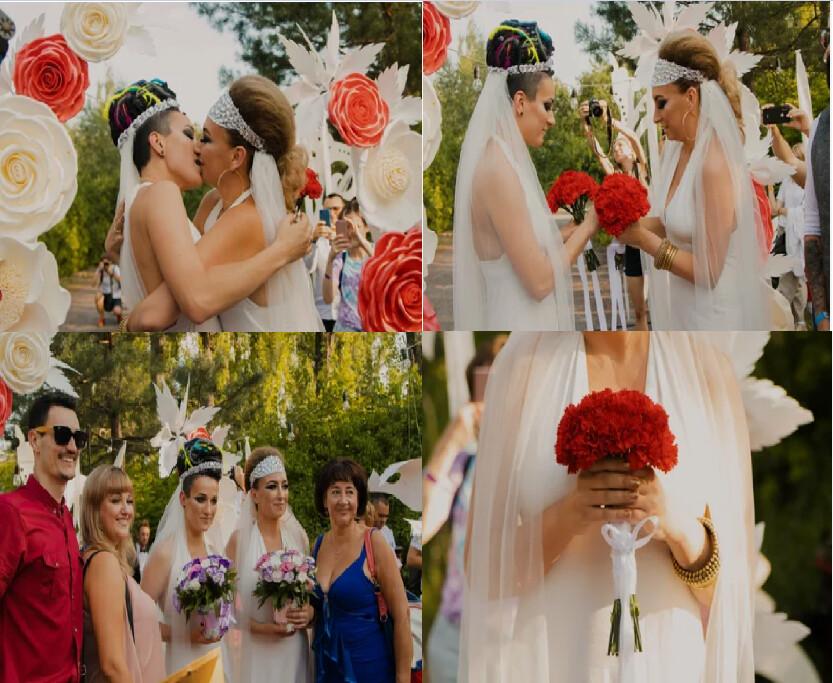 В Украине состоялась первая однополая свадьба » The Asia Times ...