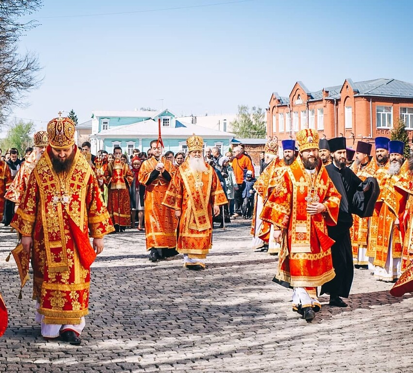 Небесным покровителем города Коломны считается митрополит Московский и Коломенский Филарет