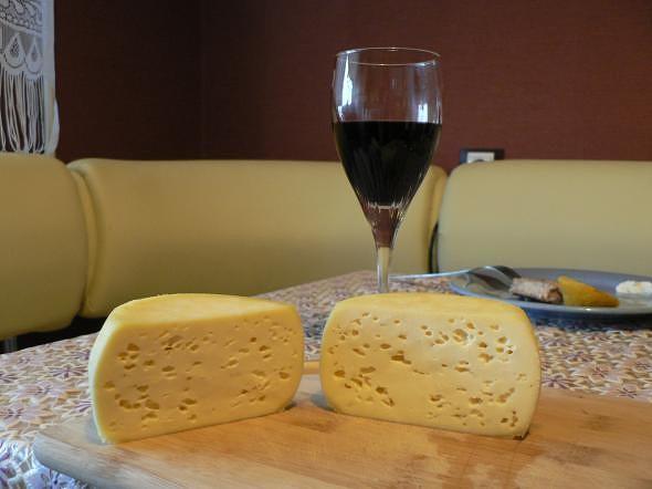 Видео рецепт твердого сыра в домашних условиях