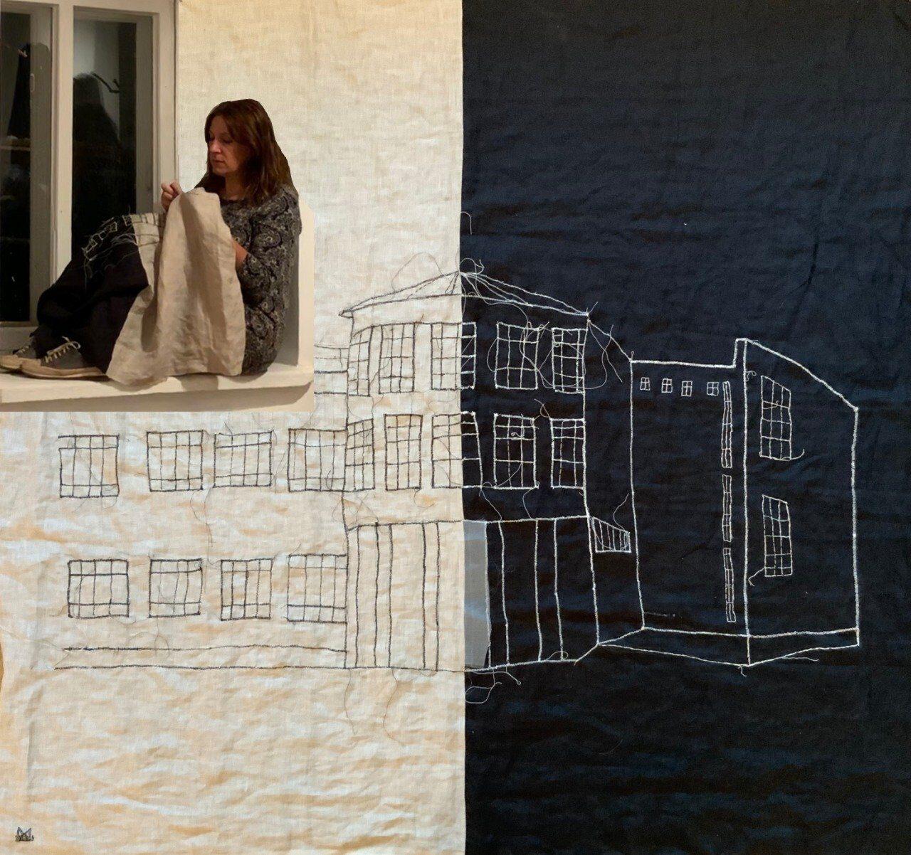 Мария Арендт: КОЛОМНА. ТКАНЬ ГОРОДА. Открытие выставки