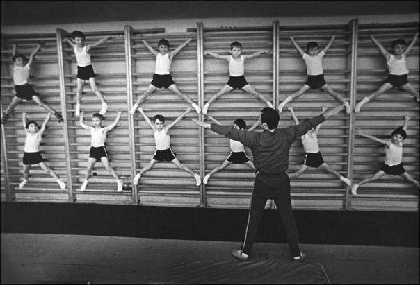 Занятие спортом. 1981 год