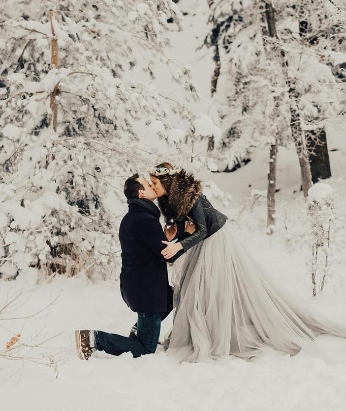 рождения это как сделать крутое свадебное фото зимой медовик