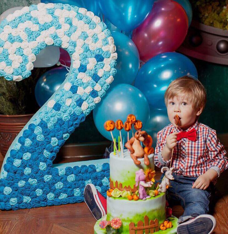 День рождения ребенка 2 годика
