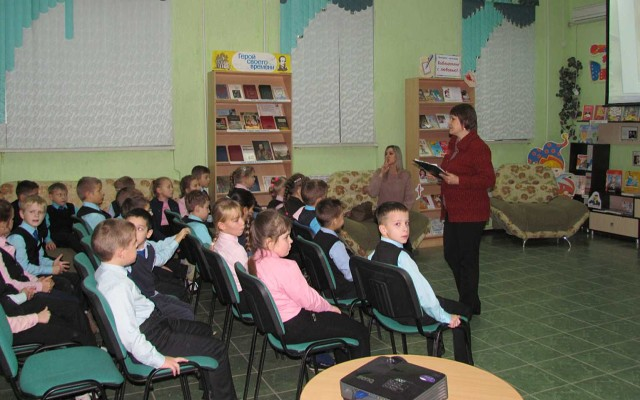 Петровских школьников познакомили с рассказами Виктора Драгунского