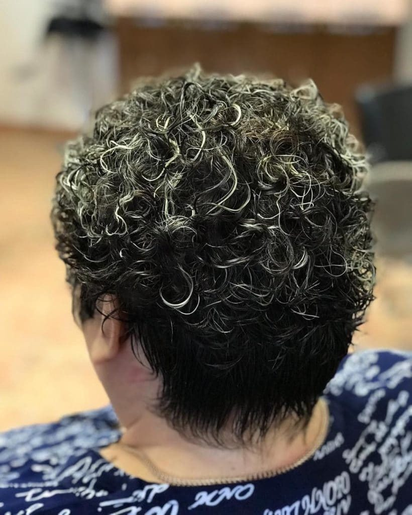 Картинки биозавивки на короткие волосы