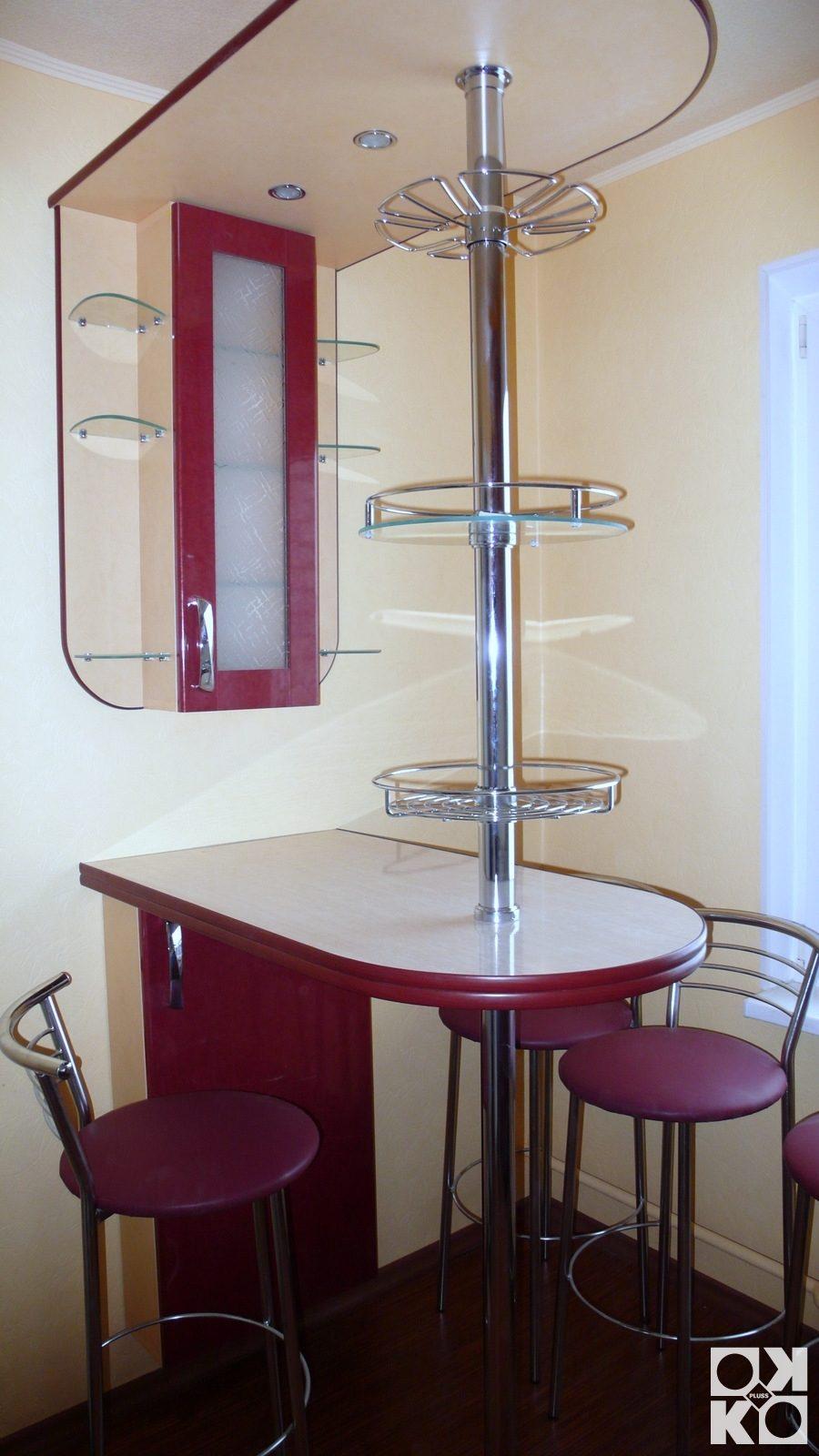 Простые барные стойки для кухни фото