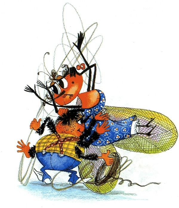 картинка копейка мухи цокотухи все