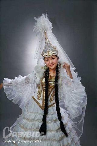 62ece3db1de5ca3 Надевается, красиво расшитый свадебный камзол невесты-казашки, поверх свадебного  платья. Украшают камзол вышивкой казахским орнаментом, бисером, ...