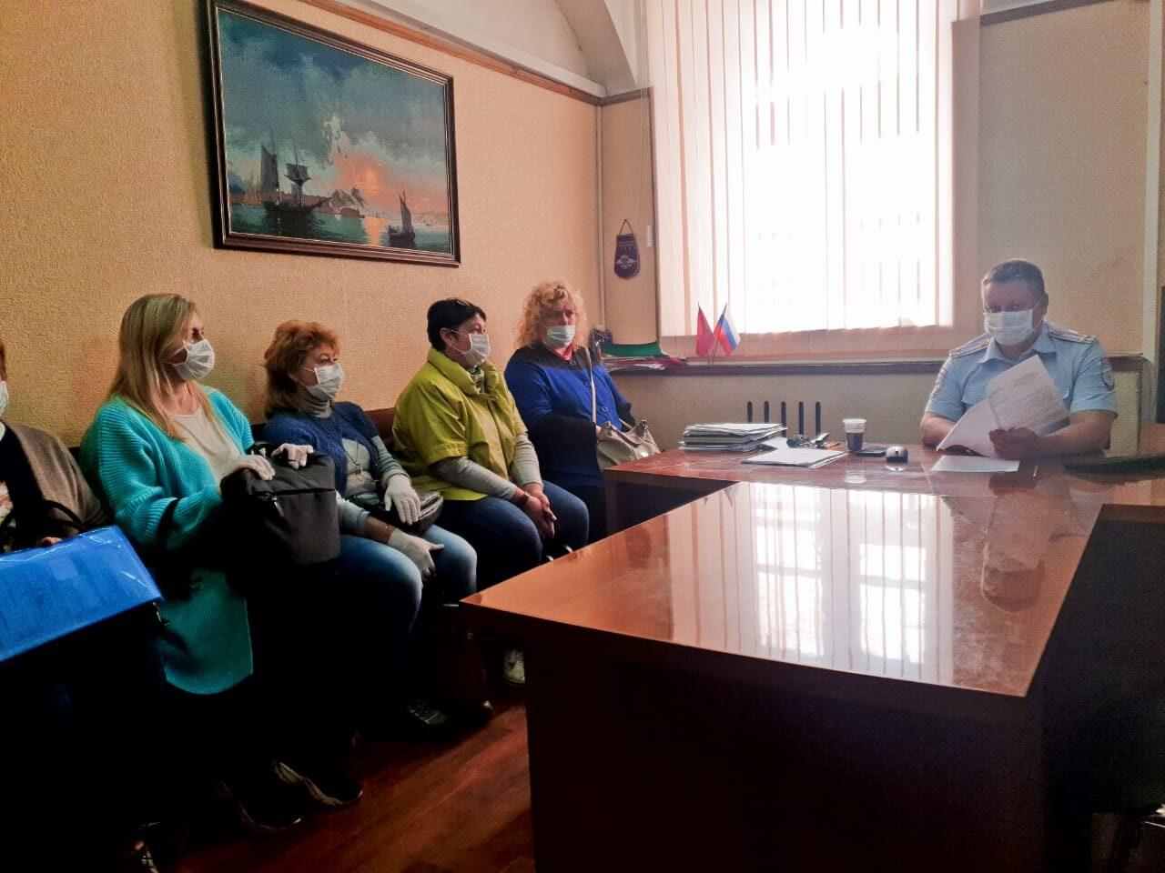 УМВД: Семинар-совещание с юридическими лицами, индивидуальными предпринимателями