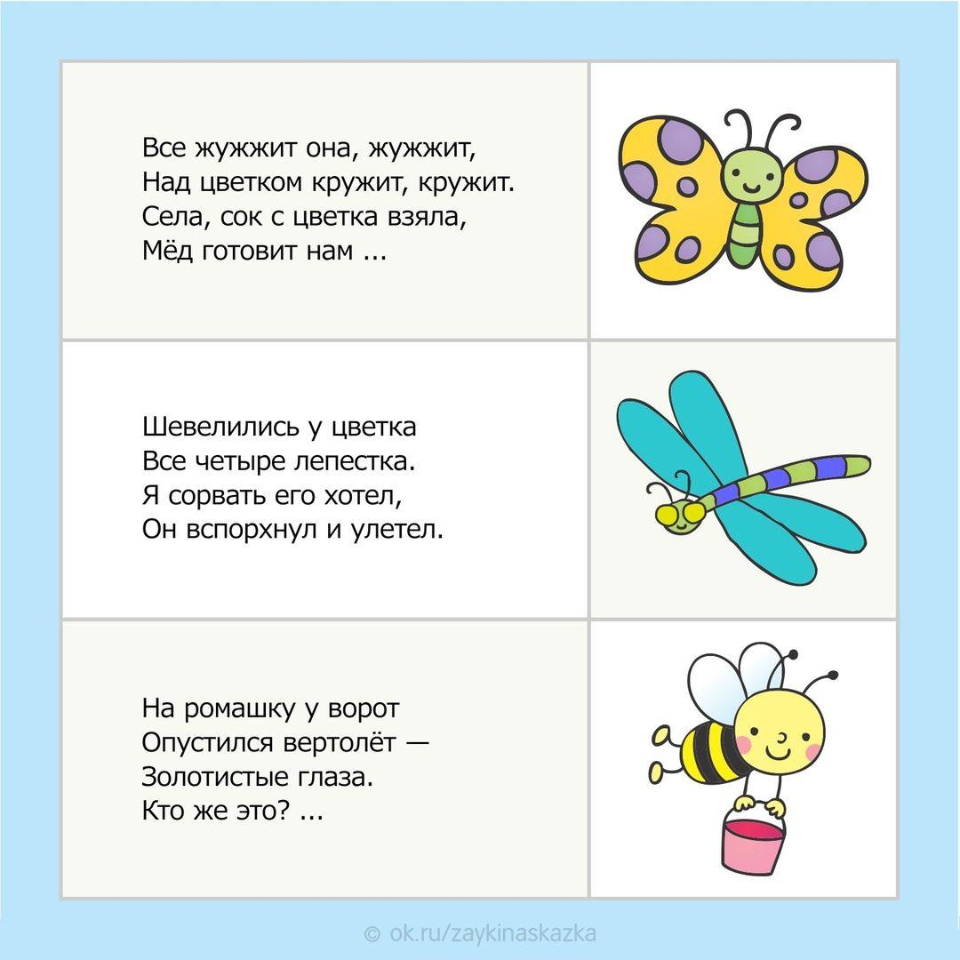 Загадки в картинках для дошколят