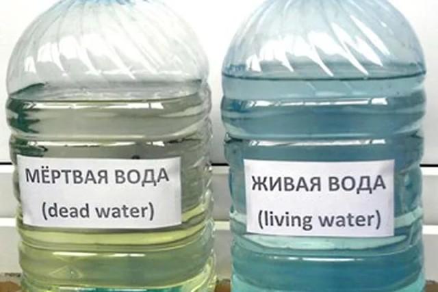 """Живая и мёртвая"""" вода (с доставкой)"""
