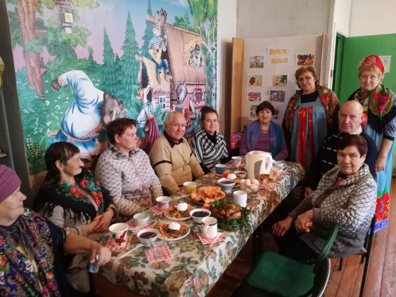 Жители сёл 1-я Берёзовка и Вязьмино отметили Кузьминки