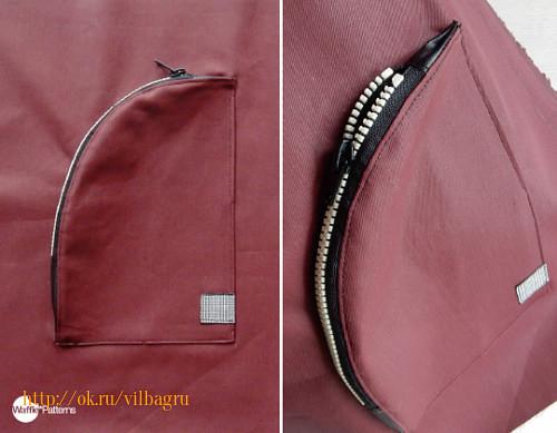 2cbe0d500276 ... на молнии в сумки и рюкзаки.  http://blog.wafflepatterns.com/post/142785628841/free-zipper-3d-pocket-sewing-pattern-and-tutorial  #полезности@vilbagru