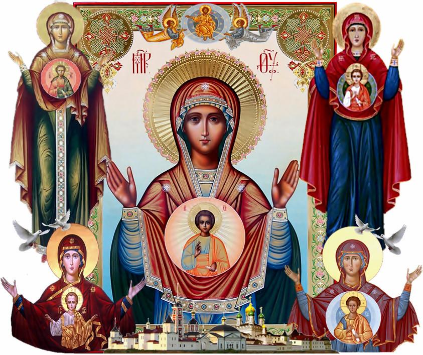 гиф иконы божьей матери знамение использовать