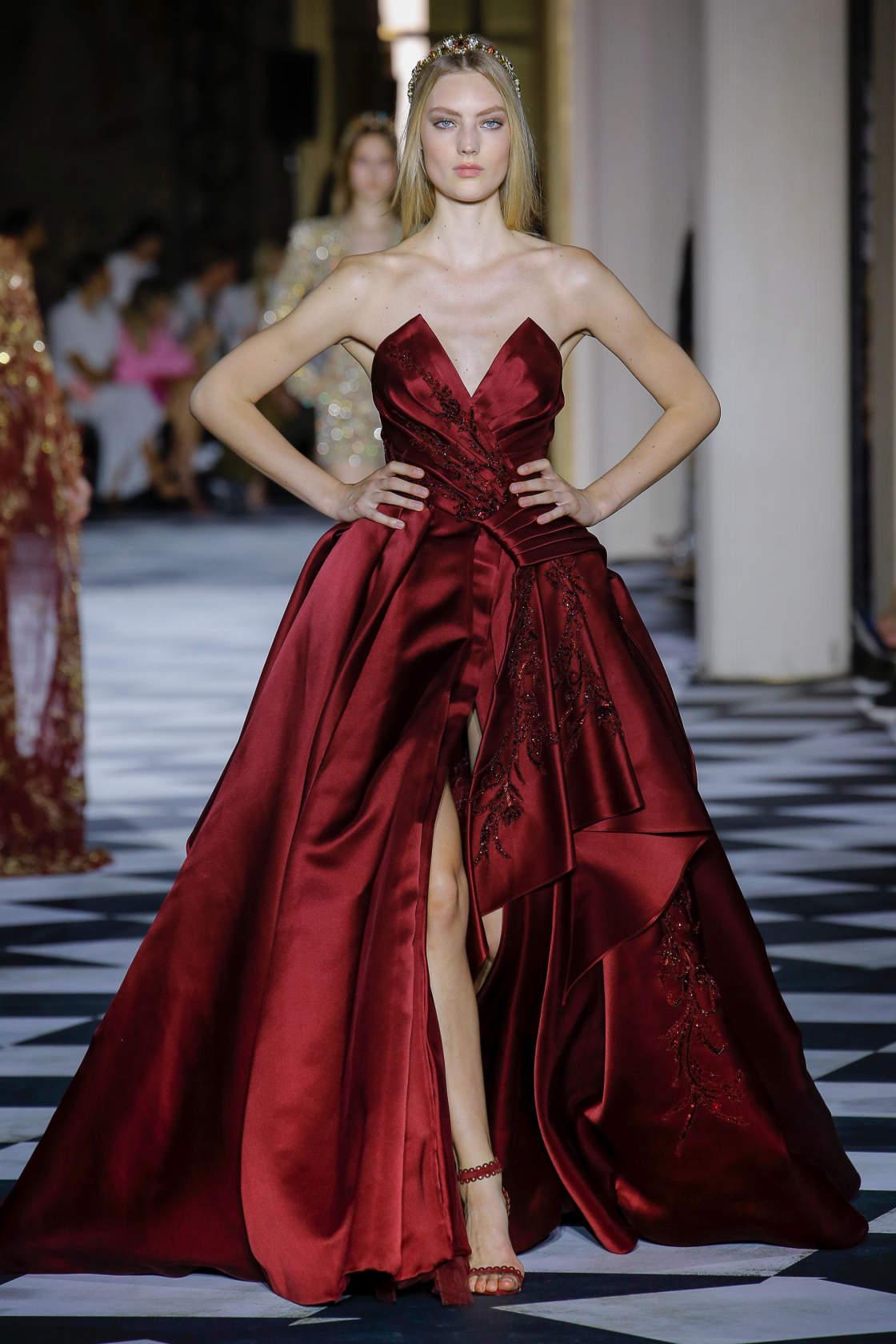 dbb67551816f3b Zuhair Murad, Осень-зима 2018/2019 / Couture / НЕДЕЛЯ МОДЫ: Париж