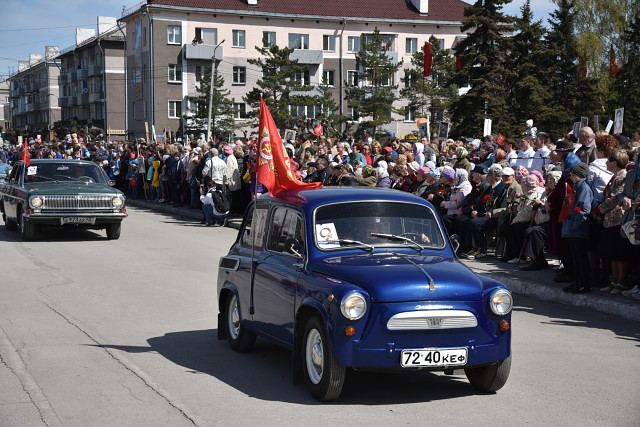 Парад автомобилей