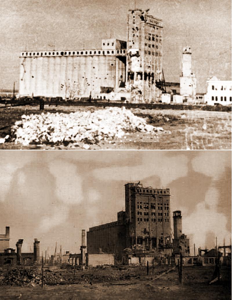 зерновой элеватор сталинград