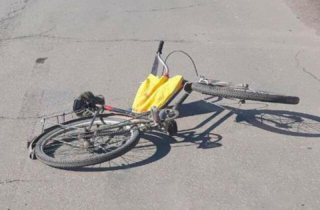 В Петровске произошло ДТП с участием велосипедиста