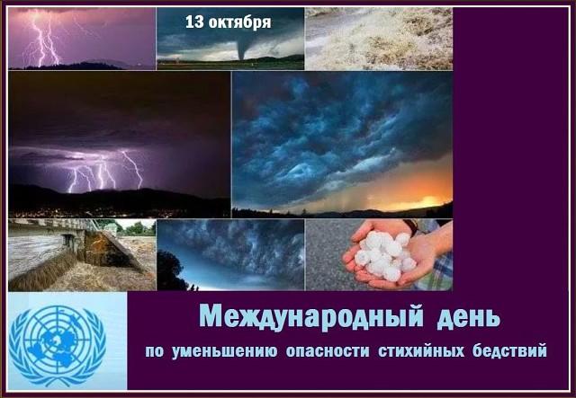 Картинки по запросу Международный день по уменьшению опасности бедствий (англ. International Day for Disaster Reduction)