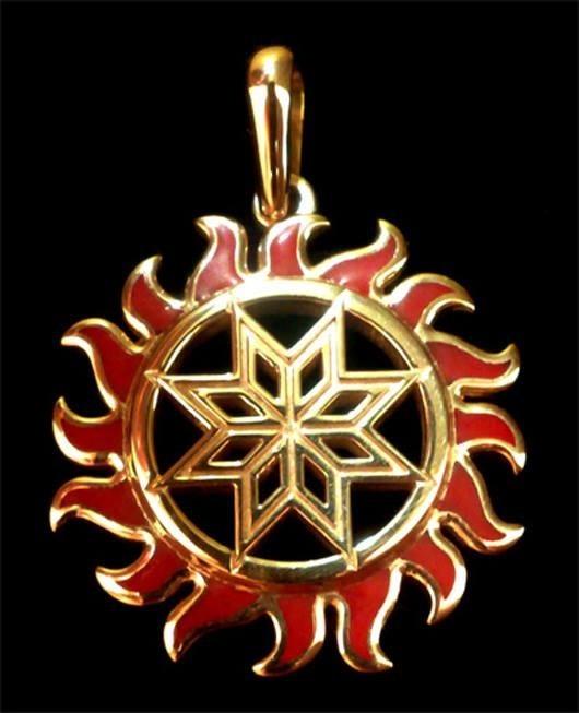 крест сварога картинки алатырь