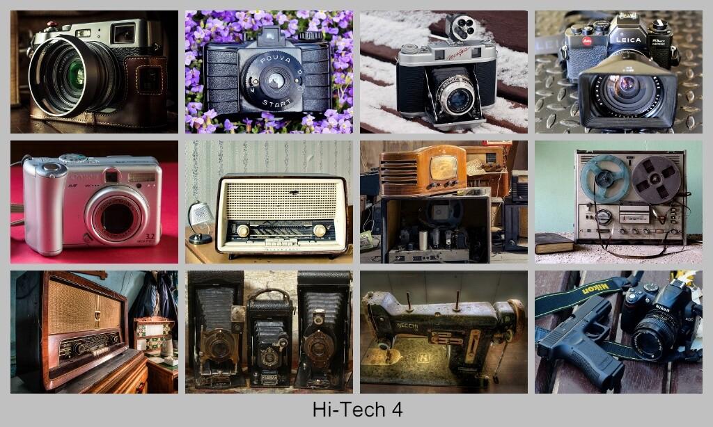 Hi-Tech Высокие технологии и старая техника