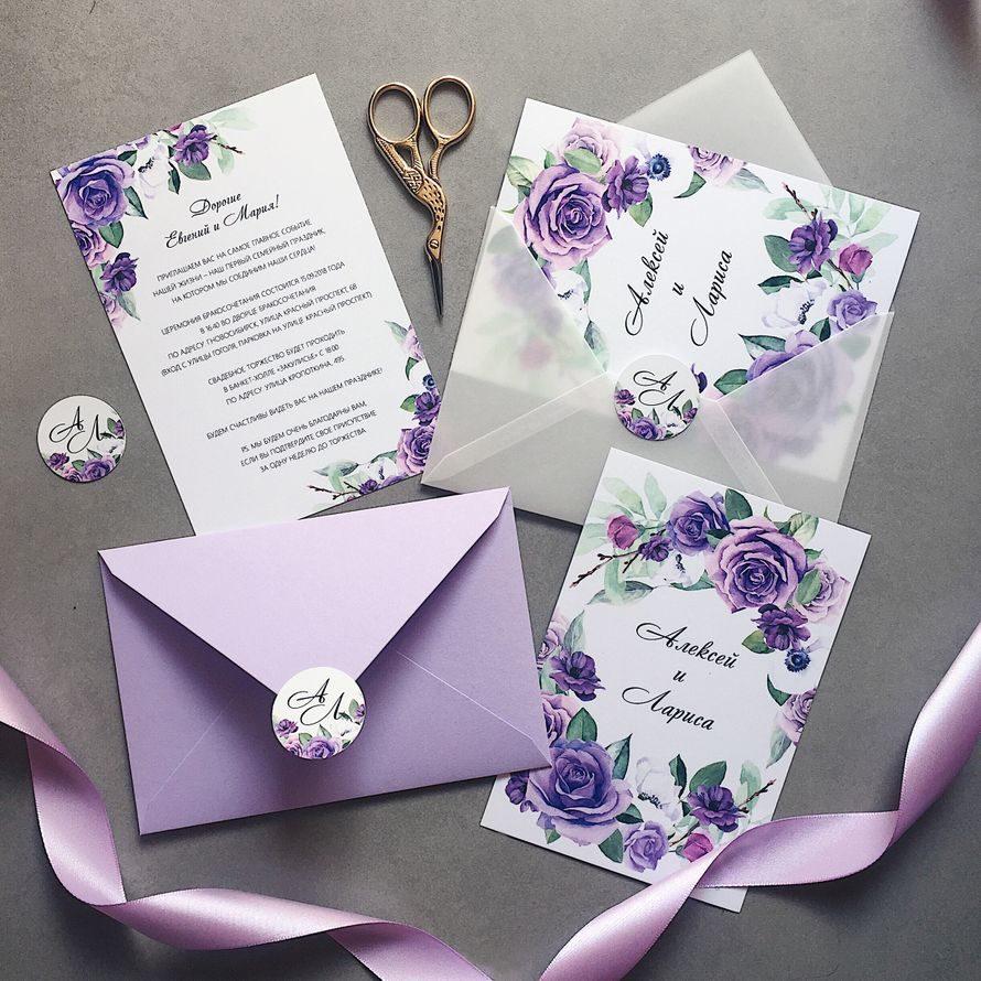 Этикет приглашения на свадьбу
