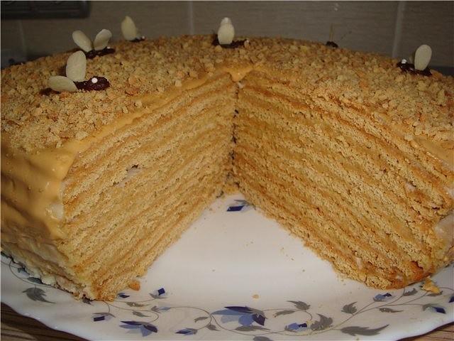 рецепт медового торта с заварным кремом фото герб норвегии известны