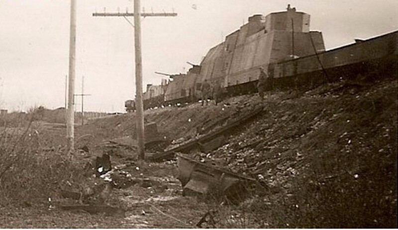 75 лет со дня гибели особого бронепоезда № 1 «За Сталина»