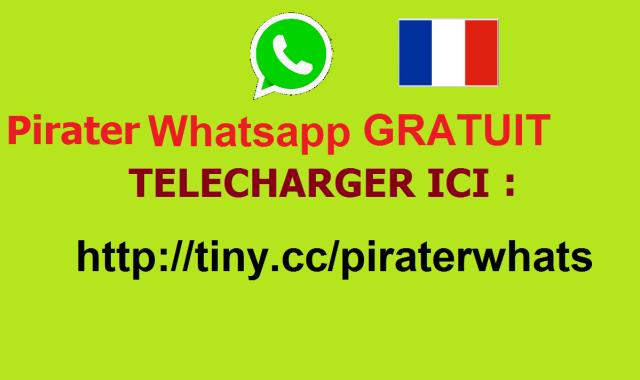 100%] Pirater Whatsapp Gratuit 2017 2018 Logiciel Compte