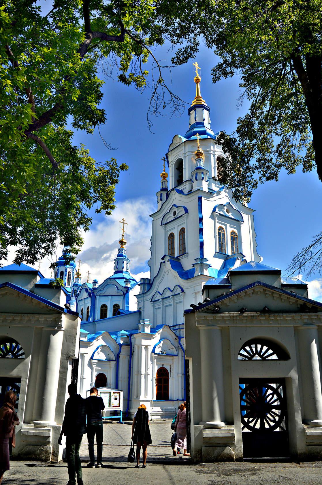 Знаменский собор Тюмень