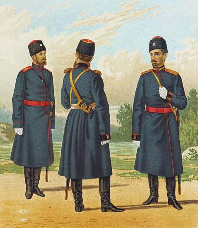 зимняя казачья форма забайкальских казаков фото хороших