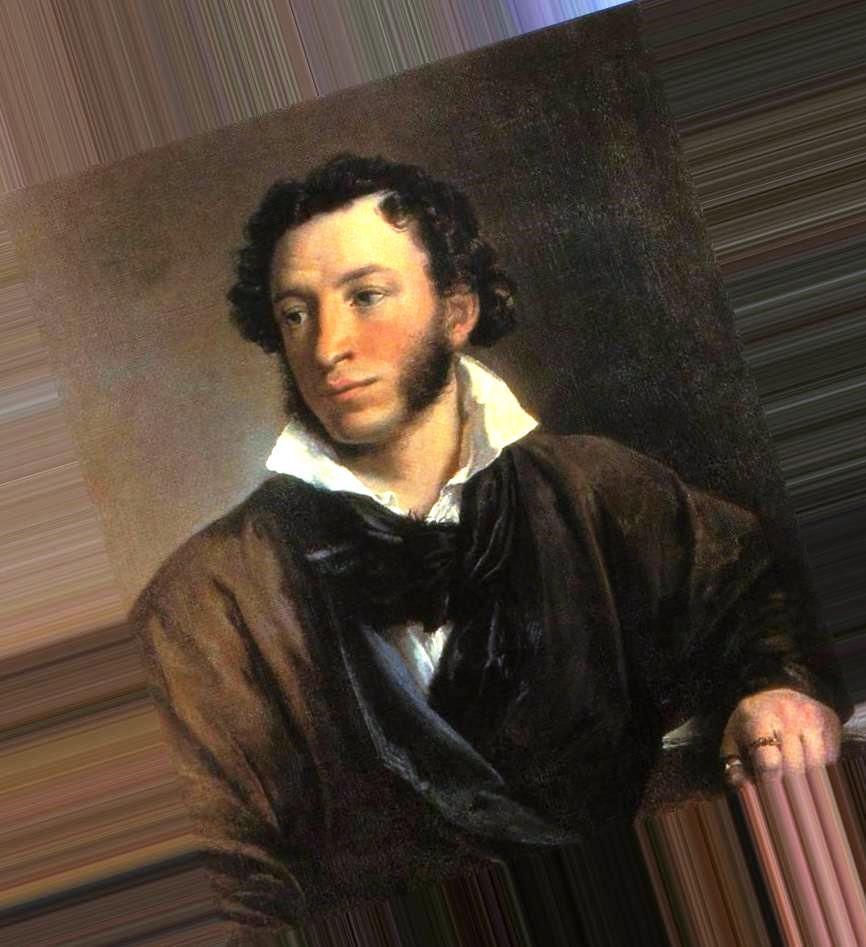 ночь картинка портрет пушкина играю лучший