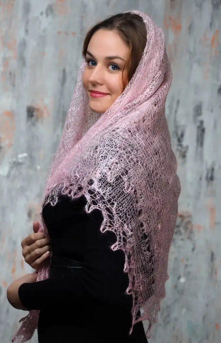 толкунова оренбургский пуховый платок